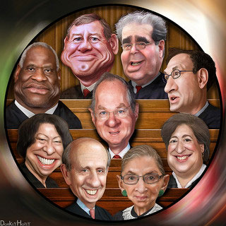 supreme court justices 2012